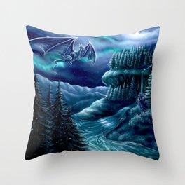Nordiska Skogen Throw Pillow