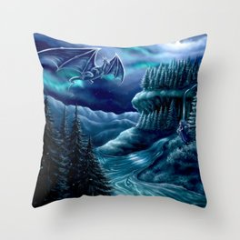 Nordiska Skogen Throw Pillow