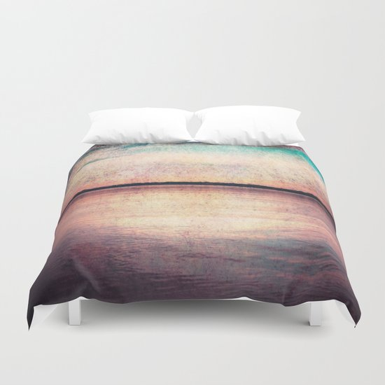 Drowning In Memories Duvet Cover