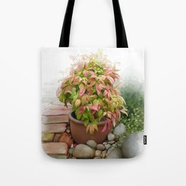 Leaves and Dew Tote Bag