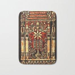 Bohemian Carvings Bath Mat