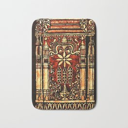 Bohemian Carvings Bath Mat