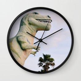 Dino Dino Dino Wall Clock