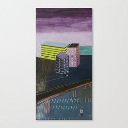Nisja: urban landscape P Canvas Print