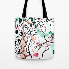 I DO NOT TALK ABOUT LOVE by mrs Wilkes Tote Bag