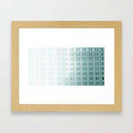 Data : backup 215 Framed Art Print