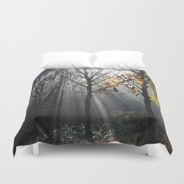 Autumn Sunbeams Duvet Cover