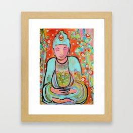 Funky Buddha Framed Art Print