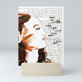 But Love Mini Art Print