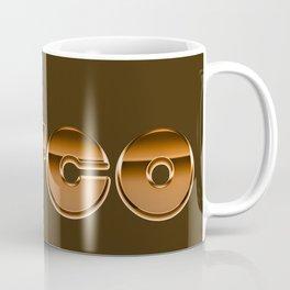 Metallic Seventies Disco Emblem Coffee Mug