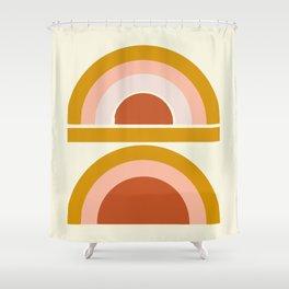 Last Rainbow Shower Curtain