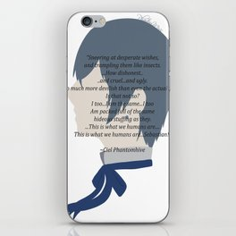 Ciel Phantomhive Quote iPhone Skin