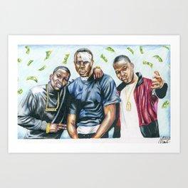 Paid In Full Art Print