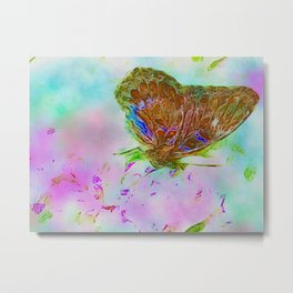 Ethereal Butterfly 1 Metal Print