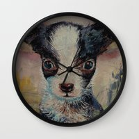 shakespeare Wall Clocks featuring Shakespeare by Michael Creese