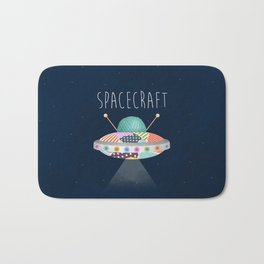 Spacecraft Bath Mat