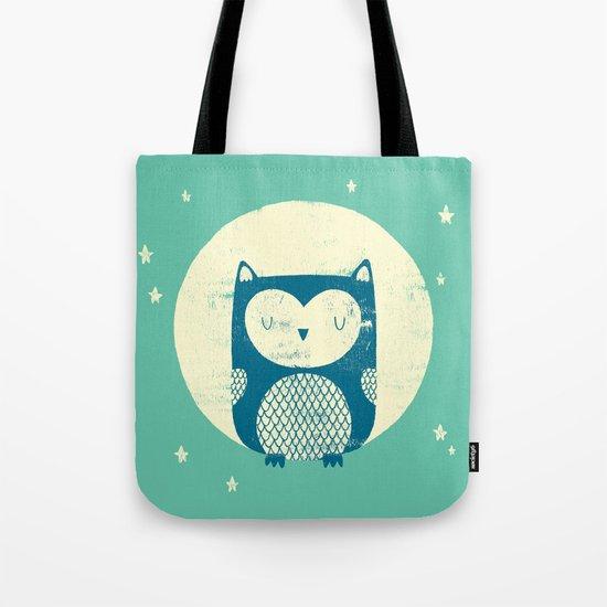 The Moon Owl Tote Bag