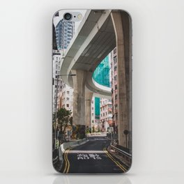 Hong Kong Street Bridge iPhone Skin