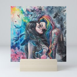 Colorful Me Mini Art Print