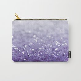 MERMAIDIANS PURPLE GLITTER Carry-All Pouch