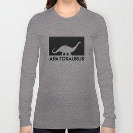 Apatosaurus Dinosaur Long Sleeve T-shirt