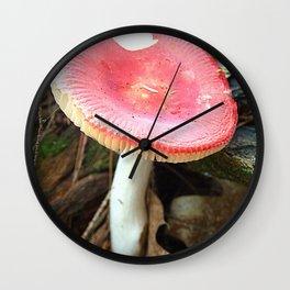 Mushroom N Wall Clock