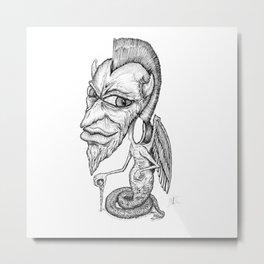 Diablillos BW 001 Metal Print