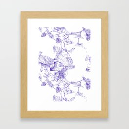 Jeweled Botanist Framed Art Print