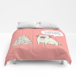 Pug's love Comforters