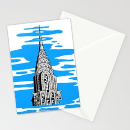 Shine like the top of the Chrysler Building! Stationery Cards