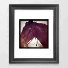 my name is Framed Art Print