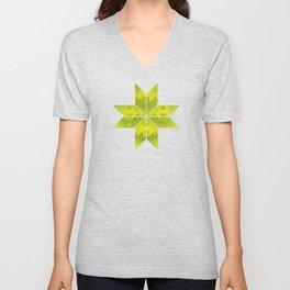 Undergrowth, Snowflakes #33 Unisex V-Neck