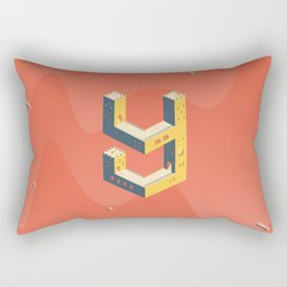 castle in the 'Y' Rectangular Pillow
