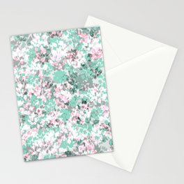 Winter Leaves (Grey) Stationery Cards