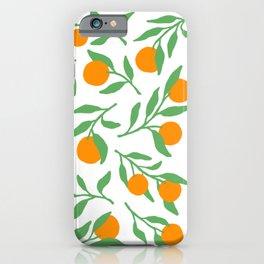 Fresh California Orange iPhone Case