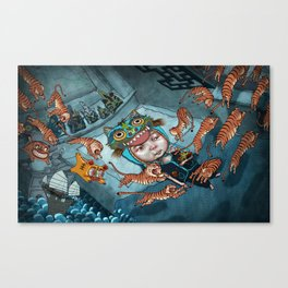 Losing Culture Canvas Print