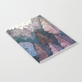 A cold river canyon Notebook