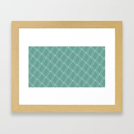 green flacon Framed Art Print