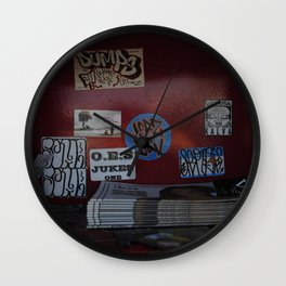 L.A. Graff/ Peggy shirts Wall Clock