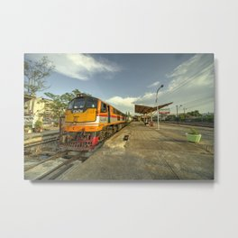 Surat Thani Station  Metal Print