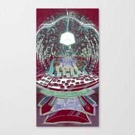 Neuromancer : Wintermute Canvas Print