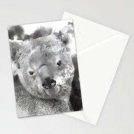 Animals and Art - Koala Bear Stationery Cards