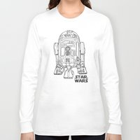 r2d2 Long Sleeve T-shirts featuring r 2 d 2 by Vickn