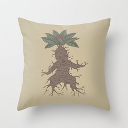 Mandragora Throw Pillow