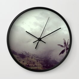 Valle del Cocora Wall Clock