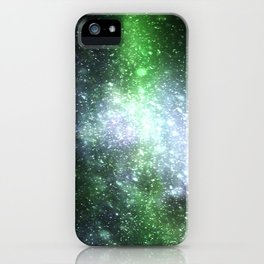 Falling sparkles iPhone Case