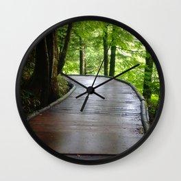 Walkway Wall Clock