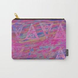 Rainbow sea waves Carry-All Pouch
