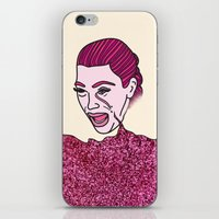 kardashian iPhone & iPod Skins featuring Kim Krying by MODERN UNDERGROUND
