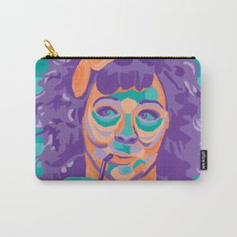 Melissa McCarthy Real Teal Carry-All Pouch